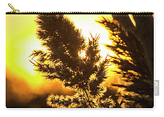Carry-all Pouch featuring the photograph Backlit By The Sunset by Zawhaus Photography