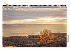 Backlit Cottonwood Carry-all Pouch