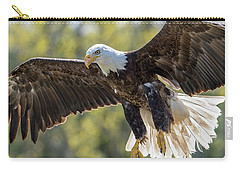 Backlit Eagle Carry-all Pouch