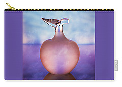 Backlit Glass Apple-the Forbidden Fruit Carry-all Pouch