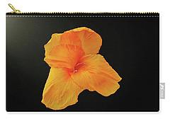 Backlit Orange Petals Carry-all Pouch
