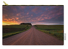 Carry-all Pouch featuring the photograph Backroad To Heaven  by Aaron J Groen
