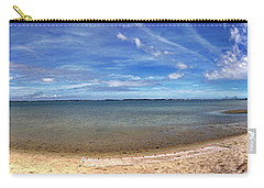 Carry-all Pouch featuring the photograph Backwater Bay Pano by T Brian Jones