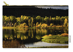 Backwater Blacks At Oxbow Bend Carry-all Pouch