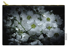 Carry-all Pouch featuring the photograph Backyard Flowers 51 Color Version by Brian Carson