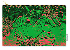 Abstract Flowers 1 Carry-all Pouch
