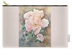 Backyard Rose Carry-all Pouch