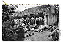 Weaving Fishing Pods Baskets Vietnam Home Bw Carry-all Pouch