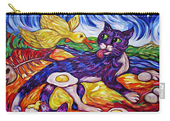 Bad Kitty Gets Caught Again Carry-all Pouch