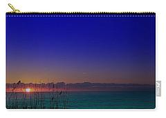 Badblue Sunrise  Carry-all Pouch