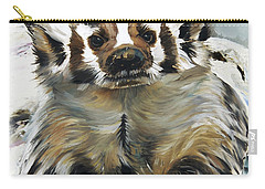 Badger - Guardian Of The South Carry-all Pouch by J W Baker