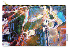 Carry-all Pouch featuring the painting Badlands 1 by Dominic Piperata