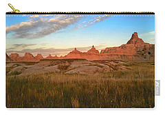 Badlands Evening Glow Carry-all Pouch