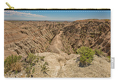 Badlands National Park Carry-all Pouch by Brenda Jacobs