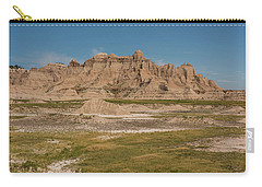 Badlands National Park In South Dakota Carry-all Pouch by Brenda Jacobs