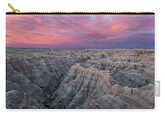 Badlands Sunrise Carry-all Pouch