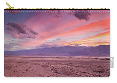 Badwater Sunset Carry-all Pouch