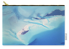 Bahama Banks Aerial Seascape Carry-all Pouch by Roupen  Baker