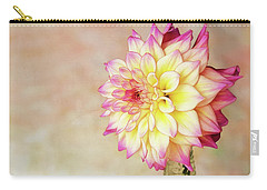 Carry-all Pouch featuring the photograph Bahama Mama Dahlia by Mary Jo Allen