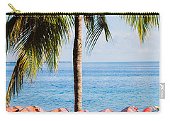 Carry-all Pouch featuring the photograph Bahama Vibes by Parker Cunningham