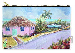 Bahamian Island Shack Carry-all Pouch
