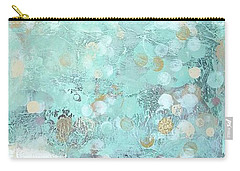 Bahamian Rapture II Carry-all Pouch by Kristen Abrahamson