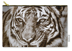 Baheem Snarl Carry-all Pouch by Elaine Malott