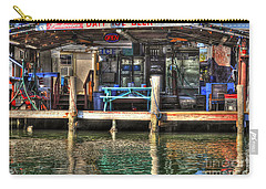 Bait Ice  Beer Shop On Bay Carry-all Pouch