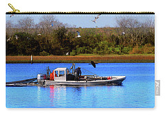 Bait Trawlin' Carry-all Pouch by Laura Ragland