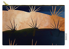 Baja Landscape Number 1 Square Carry-all Pouch