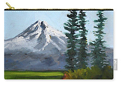 Carry-all Pouch featuring the painting Baker Meadow by Nancy Merkle