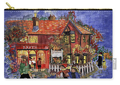 Bakers Inn Winter Holiday Landscape Carry-all Pouch