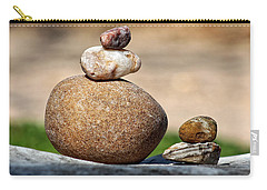 Balance And Measures Carry-all Pouch by Ella Kaye Dickey