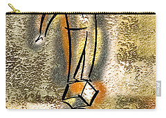 Carry-all Pouch featuring the painting Balance by Leon Zernitsky
