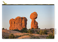 Balanced Rock In The Morning Carry-all Pouch