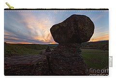 Carry-all Pouch featuring the photograph Balanced by Mike Dawson