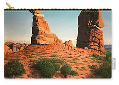 Balanced Rock At Arches National Park Carry-all Pouch