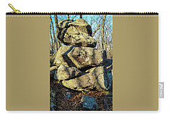 Carry-all Pouch featuring the photograph Balanced Rocks by Bruce Carpenter