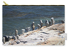Balanced Rocks Carry-all Pouch by Living Color Photography Lorraine Lynch