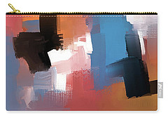 Carry-all Pouch featuring the mixed media Balancing Act by Eduardo Tavares