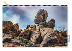 Balancing Rock Alabama Hills Carry-all Pouch by Janis Knight