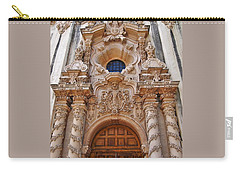 Balboa Park Building Exterior Design Carry-all Pouch