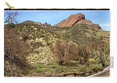 Carry-all Pouch featuring the photograph Balconies Trail - Pinnacles National Park by Art Block Collections