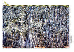 Carry-all Pouch featuring the photograph Bald Cypress In Caddo Lake by Sumoflam Photography