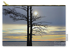 Bald Cypress Silhouette Carry-all Pouch