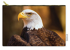 Bald Eagle 2 Carry-all Pouch by Chris Flees