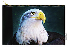 Bald Eagle Close Up Carry-all Pouch