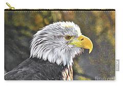 Bald Eagle Digital Carry-all Pouch by Steven Parker