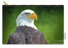 Bald Eagle Carry-all Pouch by Franziskus Pfleghart