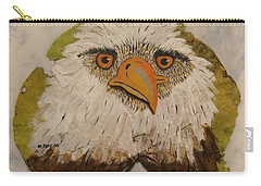 Bald Eagle Front View Carry-all Pouch